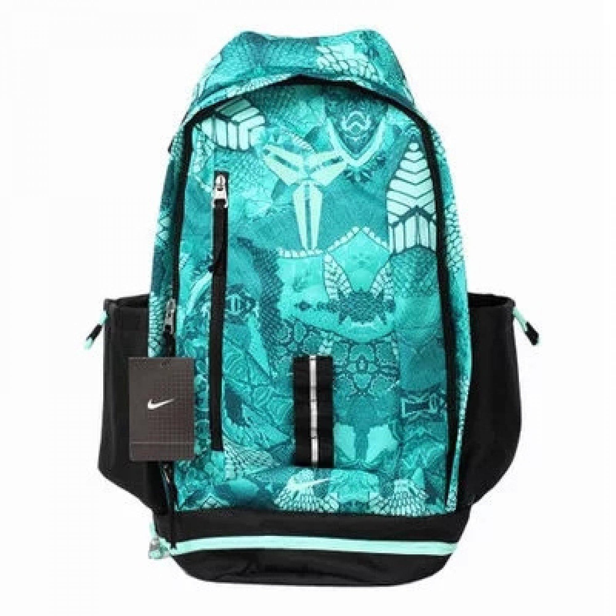 58a8139534 Nike Kobe green black NBA backpack – brandedleftovers