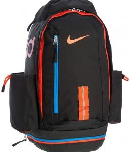 sale retailer 605d0 e37a2 ... NIKE KD Fast Break Backpack Black Black Team Orange